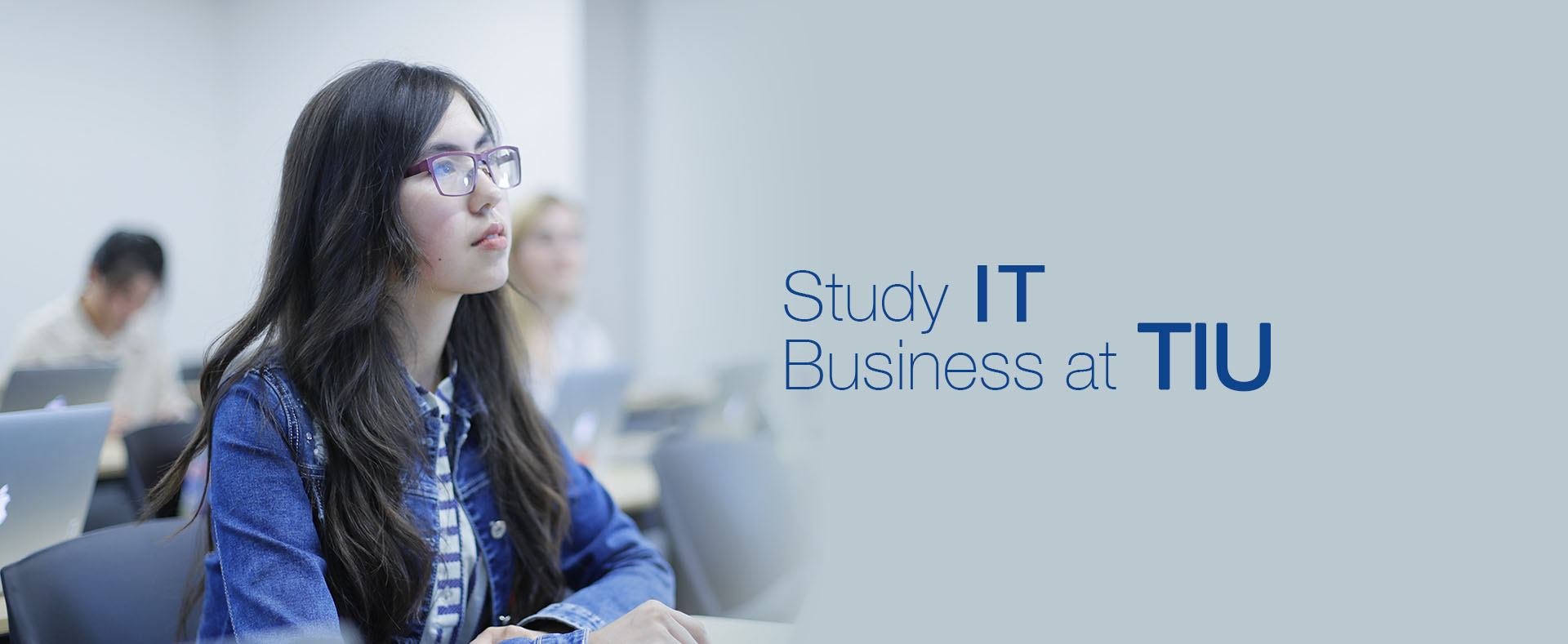 Study IT Business at TIU